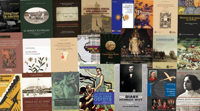 Los más importantes libros de historia del Perú del 2016